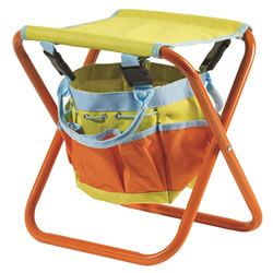Small Image of Briers Children's Garden Tool Bag Seat Storage Gardening
