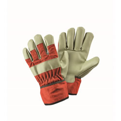 Small Image of Briers Children's Orange Rigger Gloves