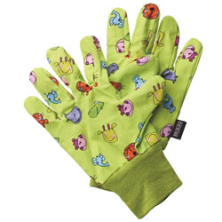 Small Image of Briers Children's Jungle Garden Gloves Outdoors Bright