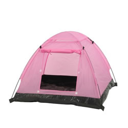 Small Image of Camelot Pink Kids Childrens Play Tent (CAM0369)