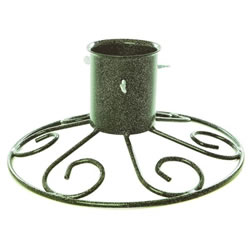 Small Image of Tom Chambers 10cm (4inch) Sleigh Base Christmas Tree Stand - Green (CT025GRN)