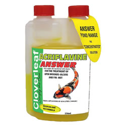 Small Image of Cloverleaf Acriflavine Answer 250ML