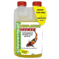 Small Image of Cloverleaf Acriflavine Answer 500ML