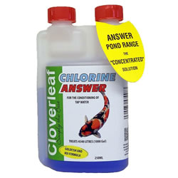 Small Image of Cloverleaf Chlorine Answer 250ML