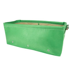 Small Image of BloemBagz Raised Bed Planter Green 45L Fabric Growbag