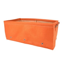 Small Image of BloemBagz Raised Bed Planter Orange 45L Fabric Growbag