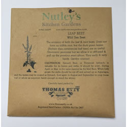 Small Image of Nutley's Thomas Etty Heritage Wild Sea Beet Seeds Garden Growing