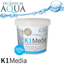 Small Image of Evolution Aqua Kaldnes K1 Media 1 Litre