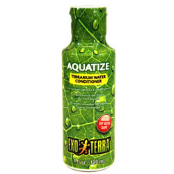 Small Image of Exo Terra Aquatize Terrarium Water Conditioner 120ml