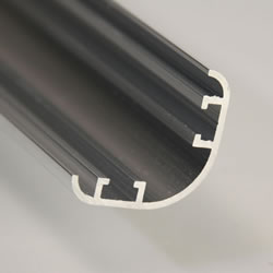 Small Image of Pack of 10 - Aluminium Extrusion Corner Section 250cm long