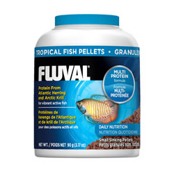 Small Image of Fluval Tropical 1mm Sinking Pellets 90g