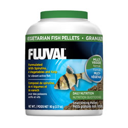 Small Image of Fluval Vegetable Sinking Pellets 90g