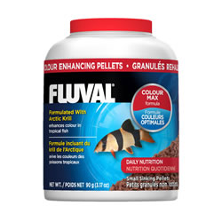 Small Image of Fluval Colour Enhancing Pellets 90g