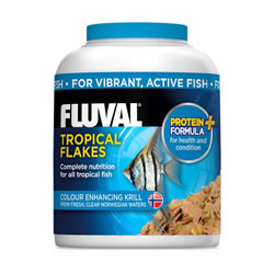Small Image of Fluval Tropical Flakes 32g