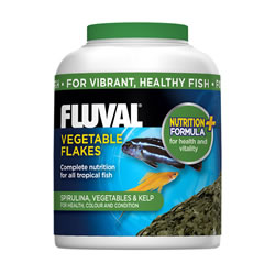 Small Image of Fluval Vegetable Flakes 32g