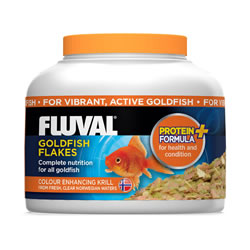 Small Image of Fluval Goldfish Flakes 18g