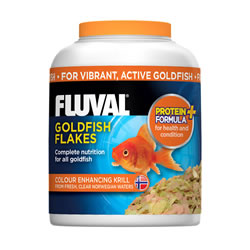 Small Image of Fluval Goldfish Flakes 32g