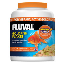 Small Image of Fluval Goldfish Flakes 54g