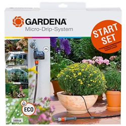 Small Image of Gardena Starter Set with Water Computer C 14e (1398-20)