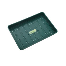 Small Image of 6 x Garland XL Seed Trays Green with Holes