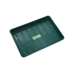 Small Image of 5 x Garland XL Seed Trays Green without Holes