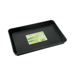 Small Image of 3 x Garland Standard Garden Tray Black 9 litres, various quantities