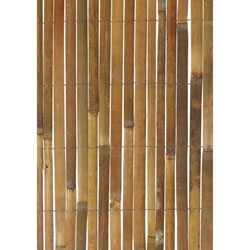 Small Image of Gardman Bamboo Slat Garden Screen 1.2m x 3.8m (09511)