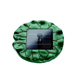 Small Image of Pontec PondoSolar Lily Floating Solar Fountain