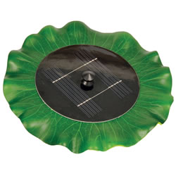 Small Image of Hozelock Solar Floating Lily