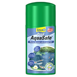 Small Image of Tetra Pond AquaSafe 250ml