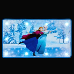 Small Image of SnowTime Disney's Frozen Doormat - Elsa and Anna Skating (IF02088)