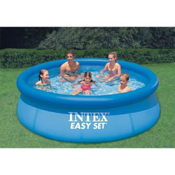 Small Image of Intex 8ft x 30in Easy Set Swimming Pool Set with Filter Pump (28112BS)