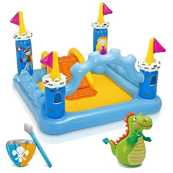 Small Image of Intex Fantasy Castle Play Centre Paddling Pool (57138NP)