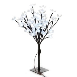 Small Image of Lumineo Cool White LED Outdoor Blossom Tree - 120cm (497927)