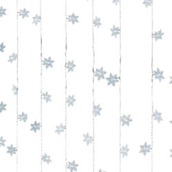 Small Image of Lumineo Transparent/Cool White LED Snowflake Curtain - 1.2 x 2m (498679)