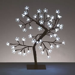 Small Image of Premier 45cm Cherry Tree with 48 White LEDs (LV45CHW)