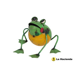 Small Image of Frankie The Frog Ornament by La Hacienda