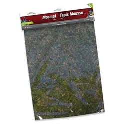 Small Image of My Village - Green Mossmat 70 x 50cm (MYD27)
