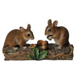 Small Image of Vivid Arts Natures' Friends Dormice Feeding NF-DM03-D