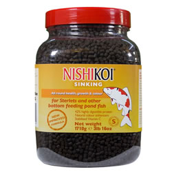 Small Image of Nishikoi Sinking Small Pellet 1710g