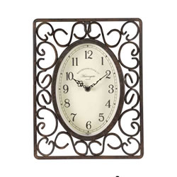 Small Image of Outdoor Harrogate Wall Clock