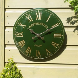 Small Image of Westminster Tower Clock in green