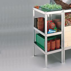 Small Image of Compact Greenhouse Storage Table