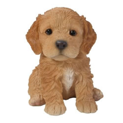 Small Image of Vivid Arts Pet Pals Cockapoo Puppy Brown PP-CKP5-F