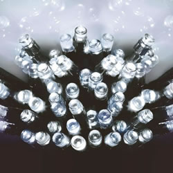 Small Image of Premier Decorations 960 White LED Multi-Action Supabrights (LV141744W)