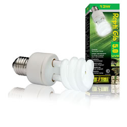 Small Image of Exo Terra UVB100 Compact Tropical Lamp 13W