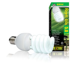 Small Image of Exo Terra UVB100 Compact Tropical Lamp 26W