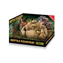 Small Image of Exo Terra Reptile Fountain Water Dish With Pump