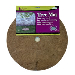 Small Image of Haxnicks Tree Mat 40cm Biodegradable Mulch Mat Protect