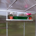 Small Image of Greenhouse Shelves Wall Mounted 148cm x 15cm - One Pair